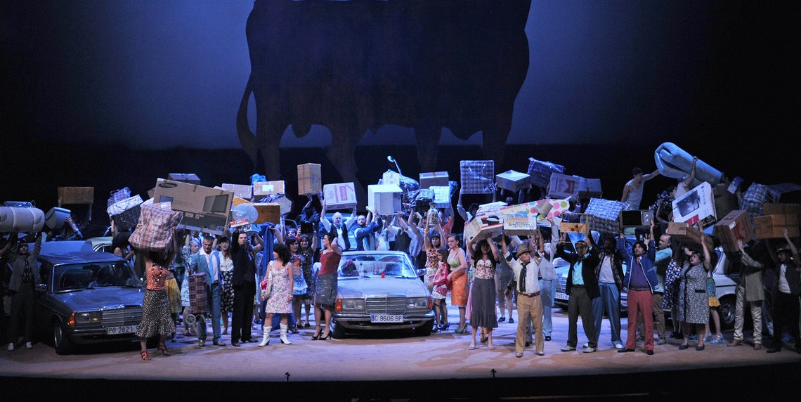 The Phantom of the Mercedes at the San Francisco's Opera