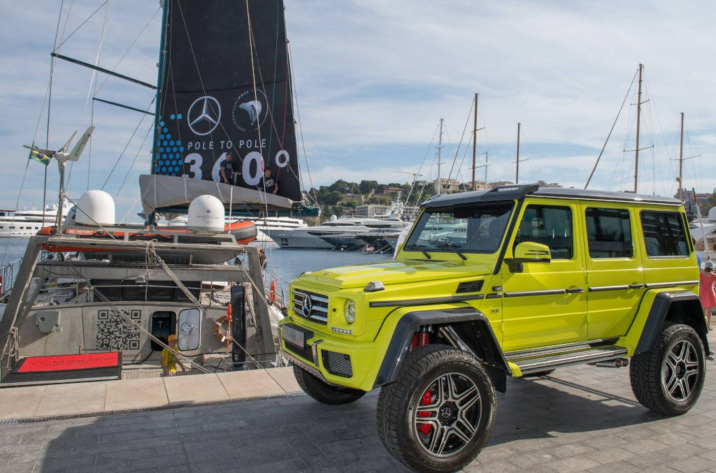Pole2Pole: An expedition around the world in a G-Class
