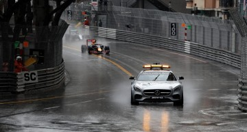 Gambling with the speed and rain in Monte Carlo
