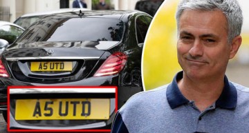 A Mercedes-Benz S-Class takes Jose Mourinho to Manchester United?
