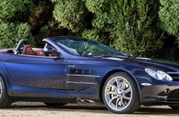 2008 Mercedes-Benz SLR McLaren Roadster auctioned in Monte Carlo