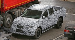 First-ever Mercedes pick-up truck revealed in new spy pics