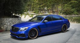 Why so blue? Mercedes-Benz S-Class got RDBLA and Wald magic powder