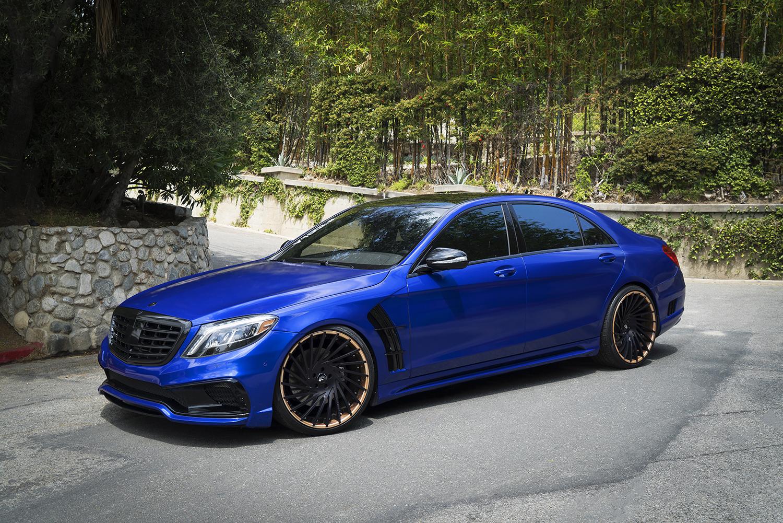 Why So Blue Mercedes Benz S Class Got Rdbla And Wald Magic Powder Mercedesblog