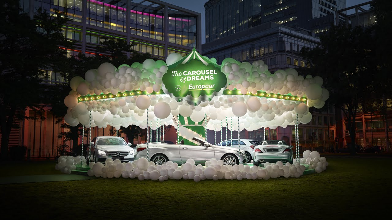 Mercedes Benz And Europcar Build The Carousel Of Dreams In London