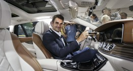 Game, set, match for space – Federer, first occupant of the E-Class Estate