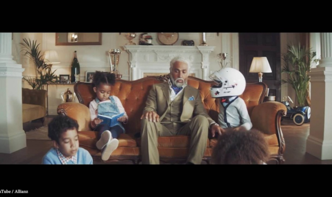 Meet Grandpa Lewis – Champions don't play it safe!