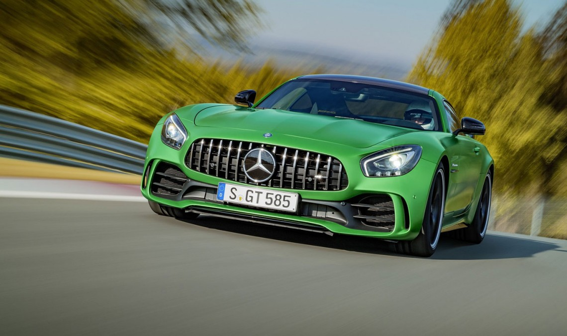 The return of the Beast – Mercedes-AMG GT R goes to Nurburgring for a hot lap