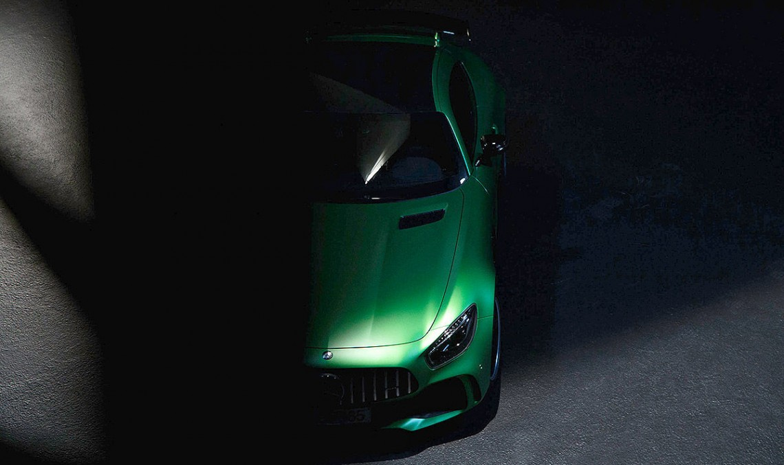 The Beast of the Green Hell – The Mercedes-AMG GT R instigated to come out