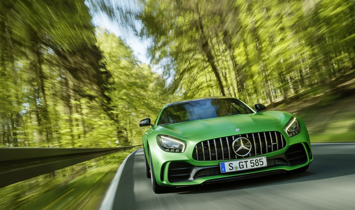 Soccer star Mesut Özil gets his new Mercedes-AMG GT R