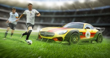 Not even out yet and already claimed – the Mercedes-AMG GT R for Germany at Euro 2016