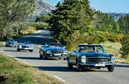 Light years away from noise – Driving a classic Mercedes-Benz SL in Provence