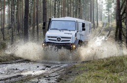 """Mercedes-Benz Unimog is the best cross country vehicle voted by """"Off-road"""" magazine readers"""