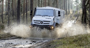 "Mercedes-Benz Unimog is the best cross country vehicle voted by ""Off-road"" magazine readers"