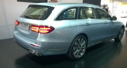 LIVE REPORT: New Mercedes E-Class T-Modell first pics and info