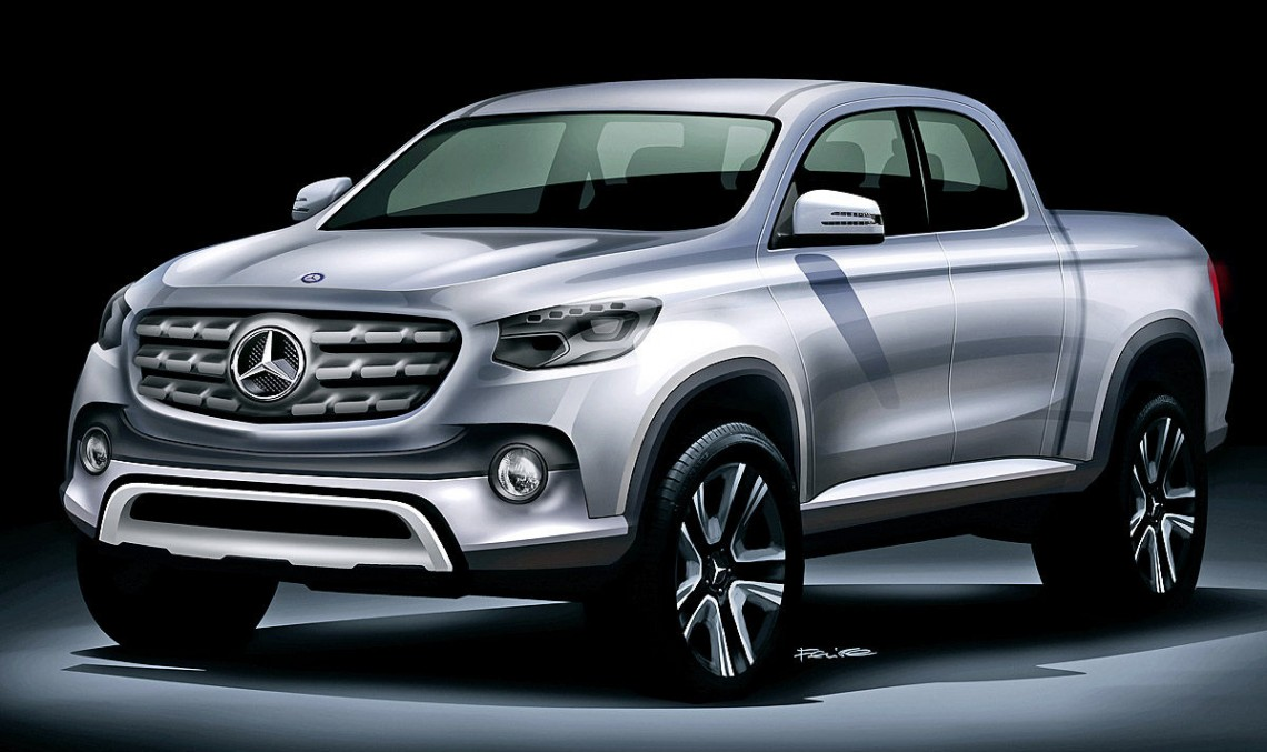 First Mercedes pick-up on track, will be built in Spain and Argentina