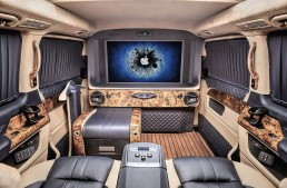 The throne room – REDLINE Engineering pumps up the Mercedes-Benz vans