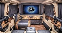 The throne room – REDLINE Engineering pumps up the Mercedes-Benz vans
