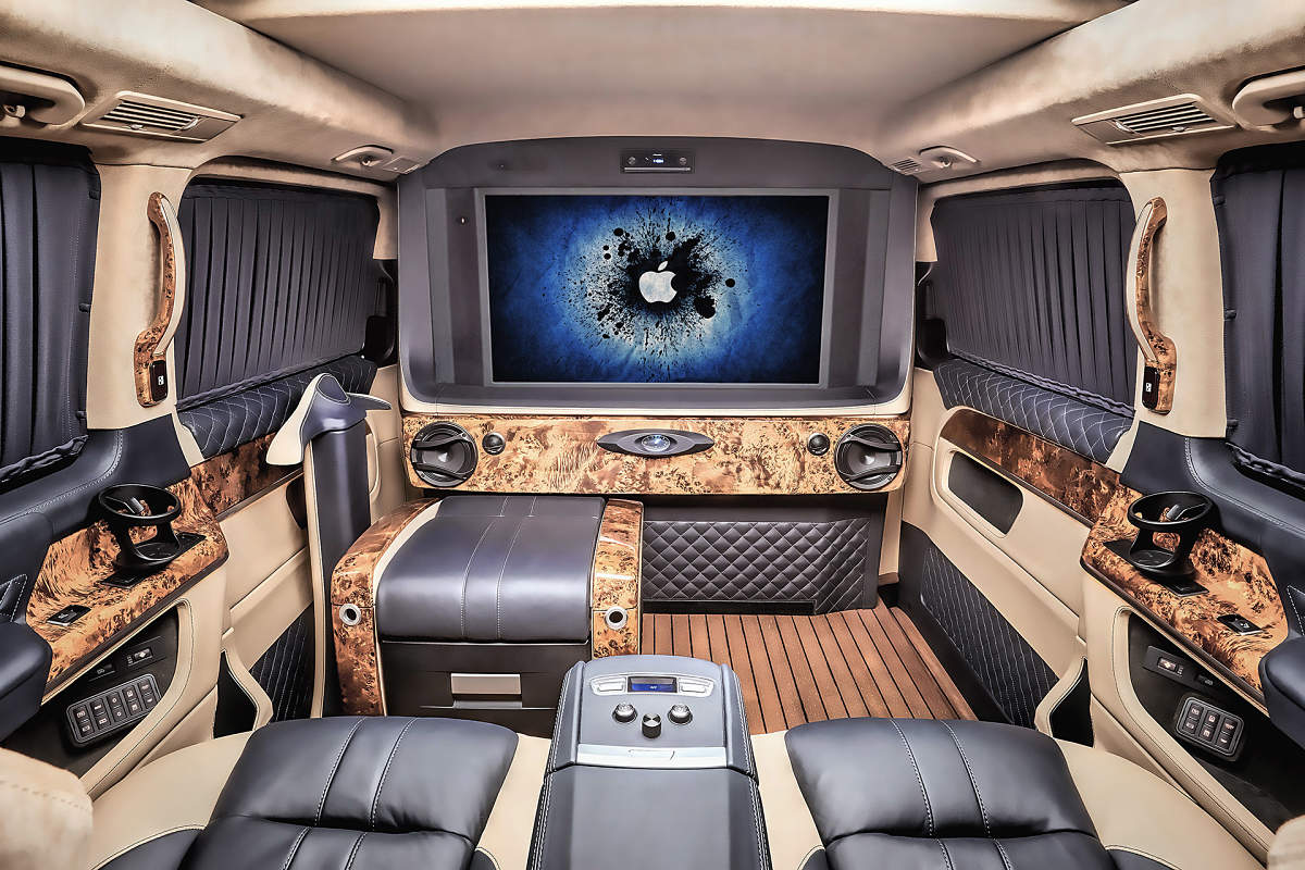 Mercedes Benz G63 >> The throne room - REDLINE Engineering pumps up the ...