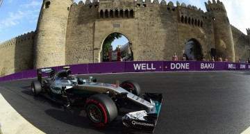 Rosberg is a rocket in a Baku! The Mercedes-AMG PETRONAS driver back on top