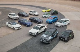 The 7 billion bet: Electric Mercedes, fuel cell and hybrids for every model series