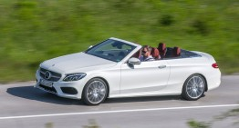 First Mercedes C-Class Cabriolet rolled off the production line