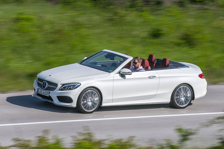Mercedes C-Class Cabriolet first drive report by Auto Motor und Sport