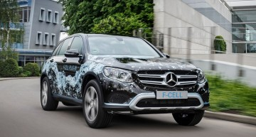 Mercedes GLC F-Cell: Hydrogen plug-in SUV coming in 2017
