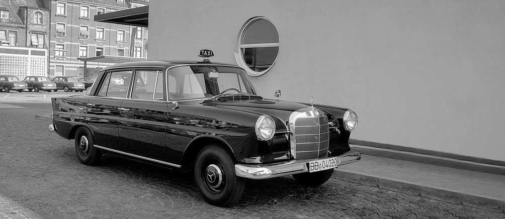 A never-ending story – Mercedes-Benz taxis throughout history