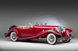 Shocking! Stolen Mercedes 500K Hans Prym Roadster leads Bonhams's auction