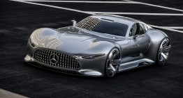 The Mercedes-AMG R50 UFO – AMG is planning a 1,300 HP €3-million hypercar