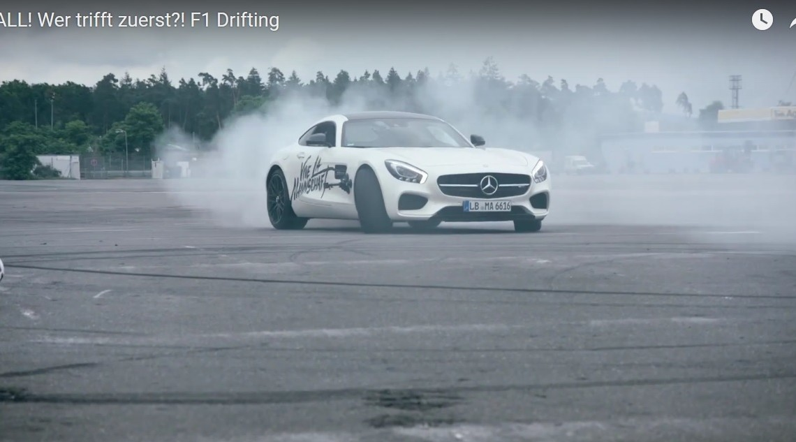 The car that scores goals when driven by pro drivers – the Mercedes-AMG GT S
