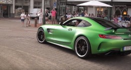 Beast unleashed! The Mercedes-AMG GT R spotted on public roads for the first time