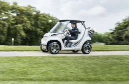 The tiniest star in the Mercedes-Benz galaxy – The Garia Golf Car