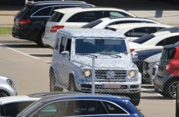 The 2018 Mercedes G-Class by auto motor und sport: completely new body larger with 10 cm