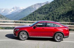 First drive report Mercedes GLC Coupe by auto motor und sport