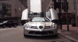 Meet the homeless man driving a Mercedes SLR McLaren