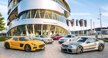 Black Magic. Five generations of AMG Black Series supercars