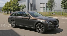 Mercedes E-Class T-Cross. T-Modell with Offroad Ambitions