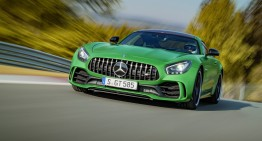 2.000 units limit for crazy 585 PS Mercedes-AMG GT R supercar