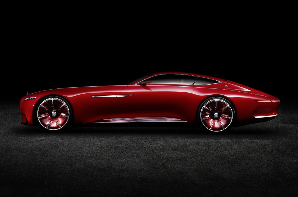 Hit the road – Vision Mercedes-Maybach 6 breaking loose