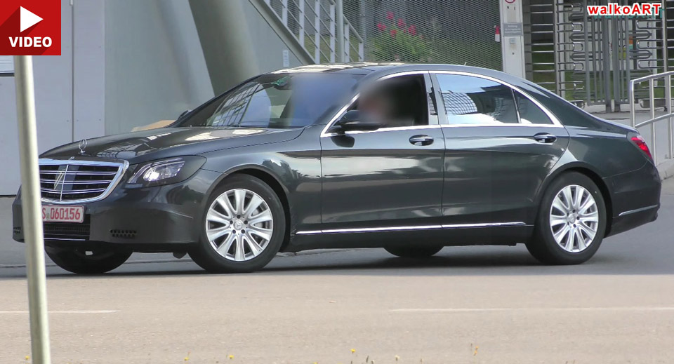 NEW SPY VIDEO: See the 2017 Mercedes S-Class facelift in motion