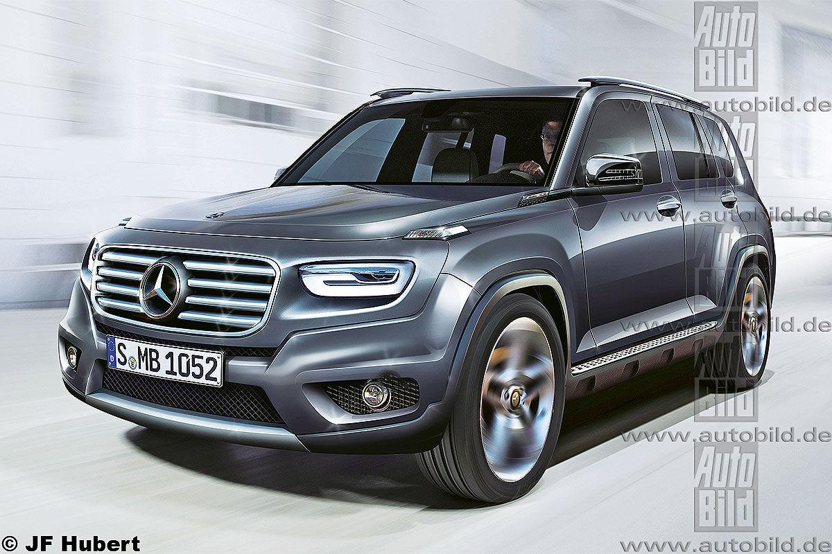 Mercedes Benz Gls 2018 >> 2019 Mercedes GLB: G-Class gets little brother - MercedesBlog