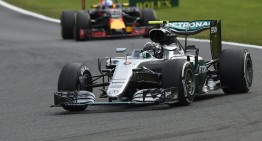 Rosberg rocks Spa, Hamilton ends third