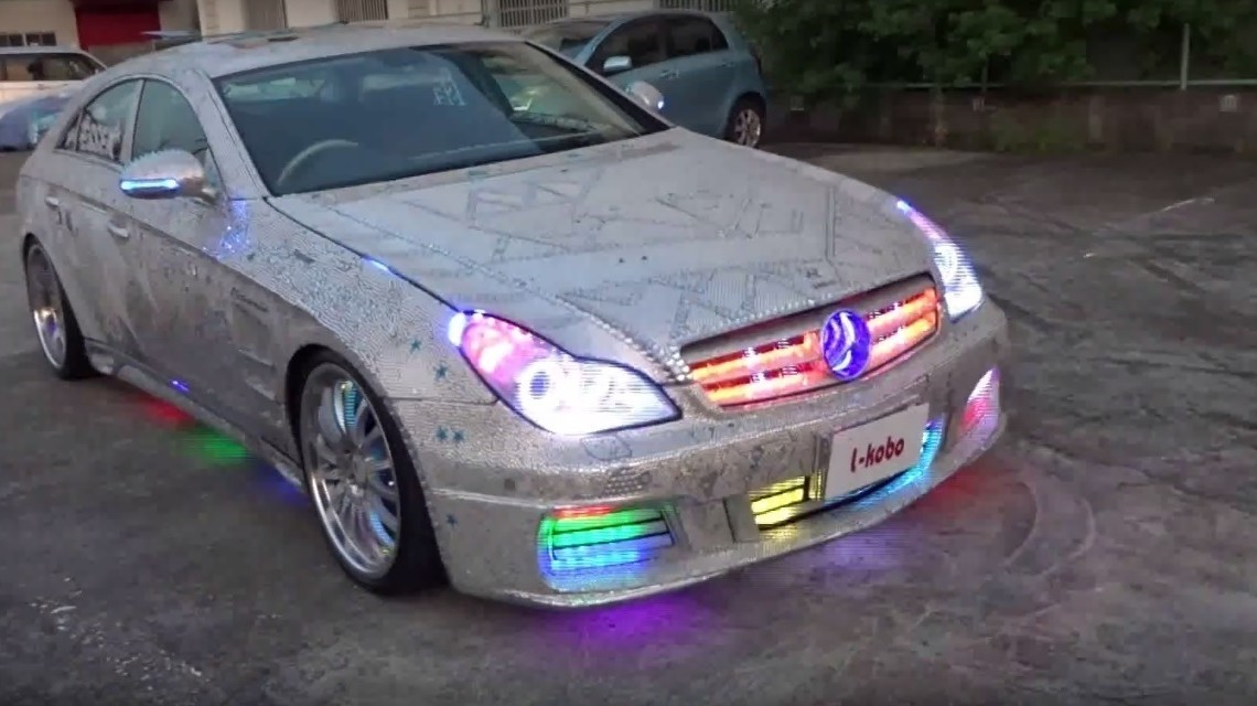 The night club Mercedes CLS