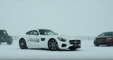 Let it snow, let it drift – Mercedes-AMG beasts tamed by the queen of ice