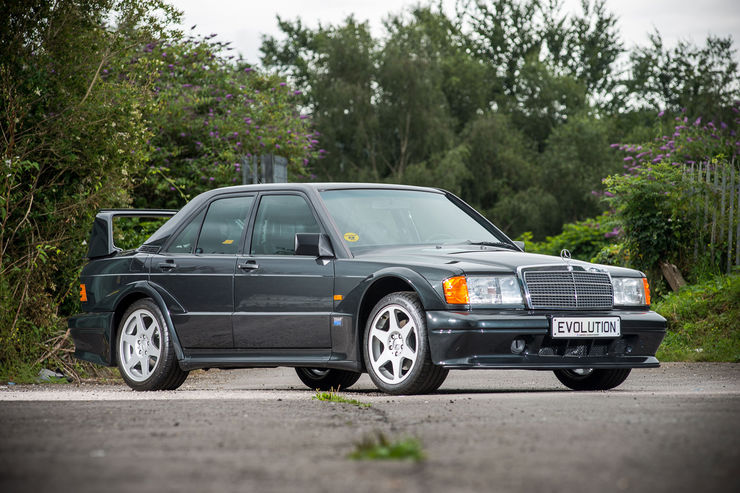 Legend goes to auction: Mercedes Benz 190 E 2.5-16 EVO II