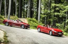 Comparative test Mercedes C 250 Cabrio vs BMW 420i Cabrio