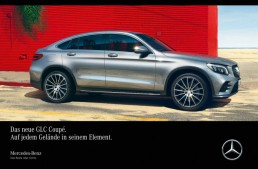 Mercedes-Benz GLC Coupe – In its element on any terrain