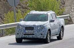 VIDEO. The Mercedes GLT caught by the spy photographers